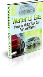 Water to Gas: How To Make Your Car Run On Water!